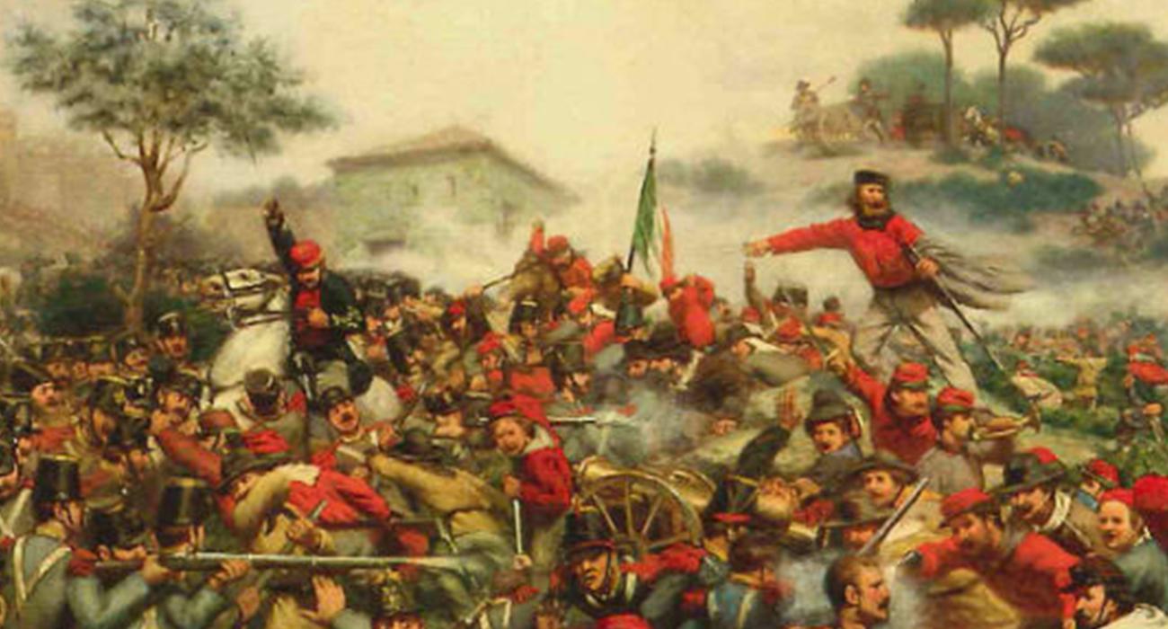 Garibaldini alla carica