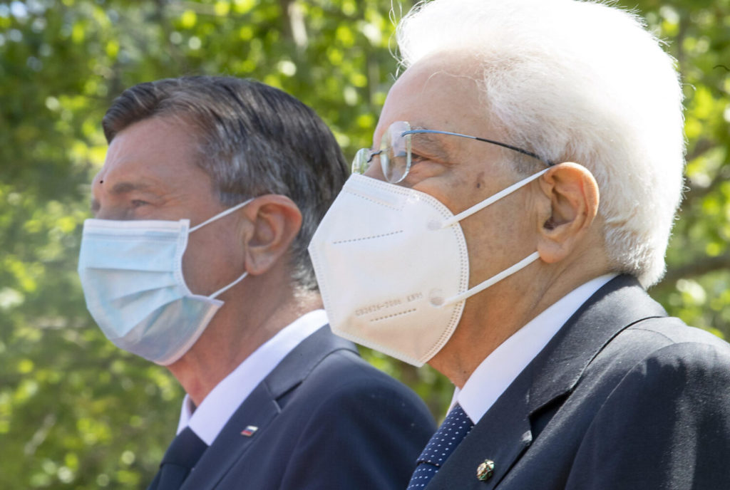L'incontro tra Mattarella e Pahor