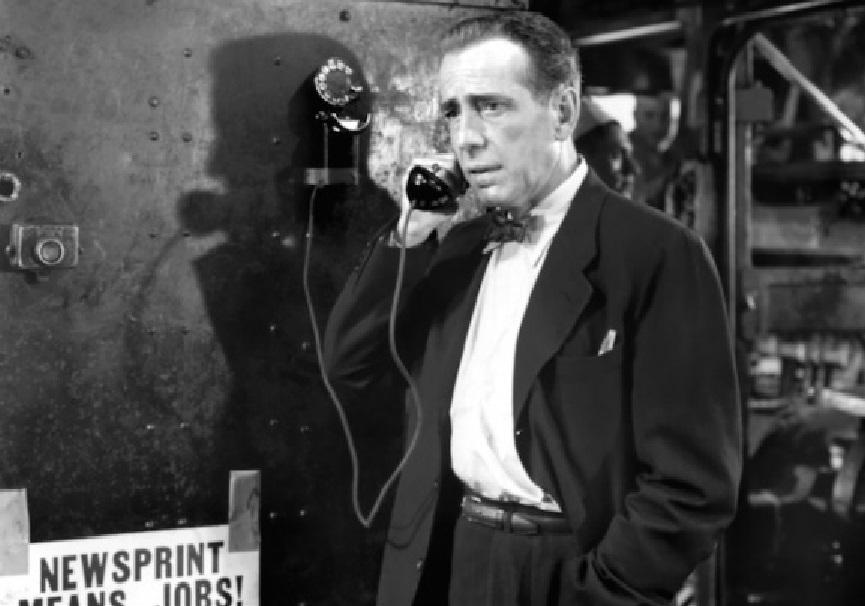 Humphrey Bogart in L'ultima minaccia