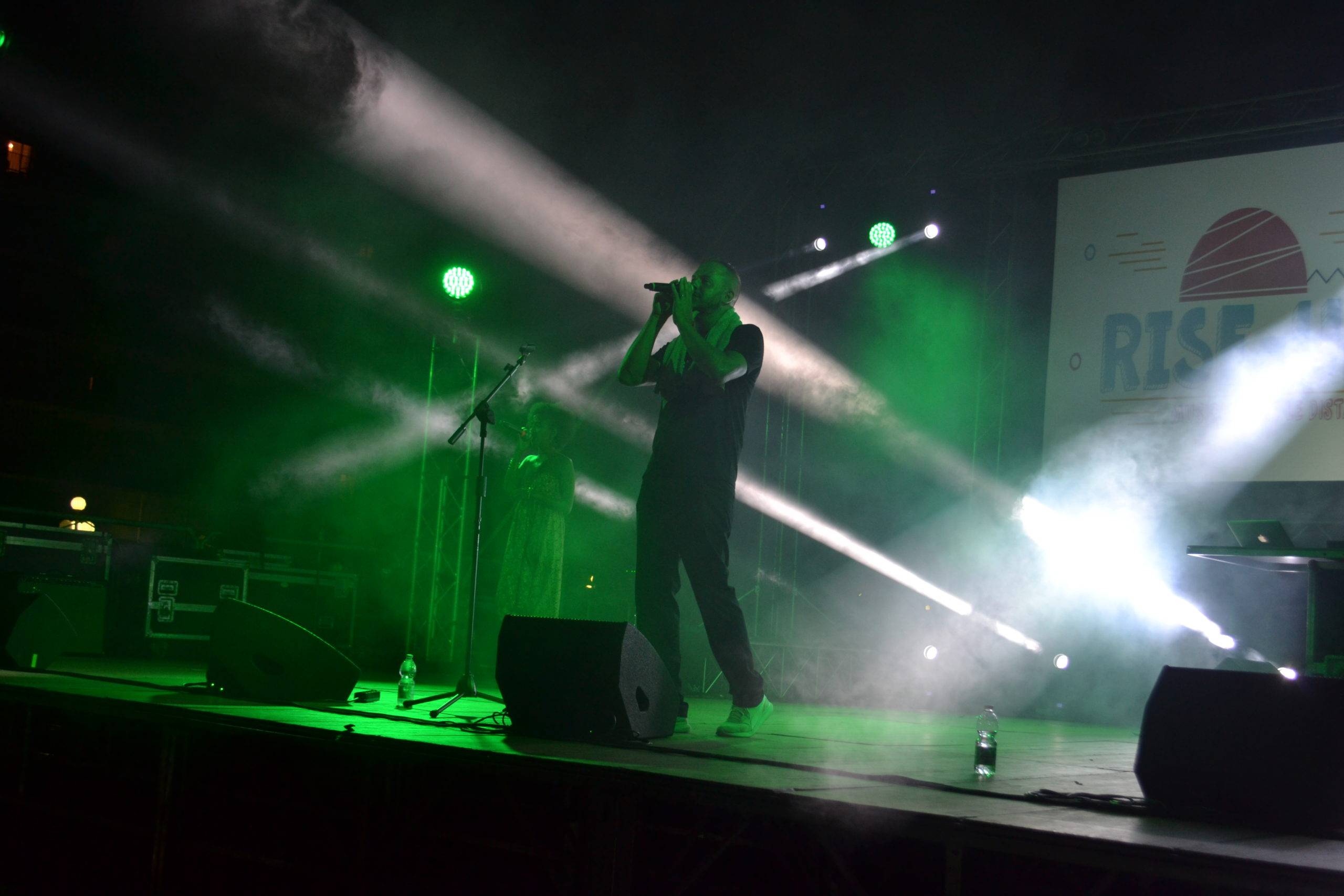 Murubutu sul palco