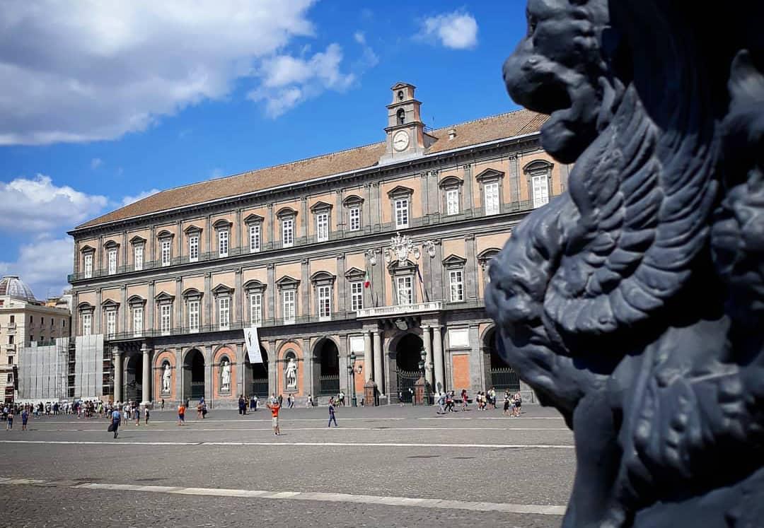 Il Palazzo Reale a Napoli