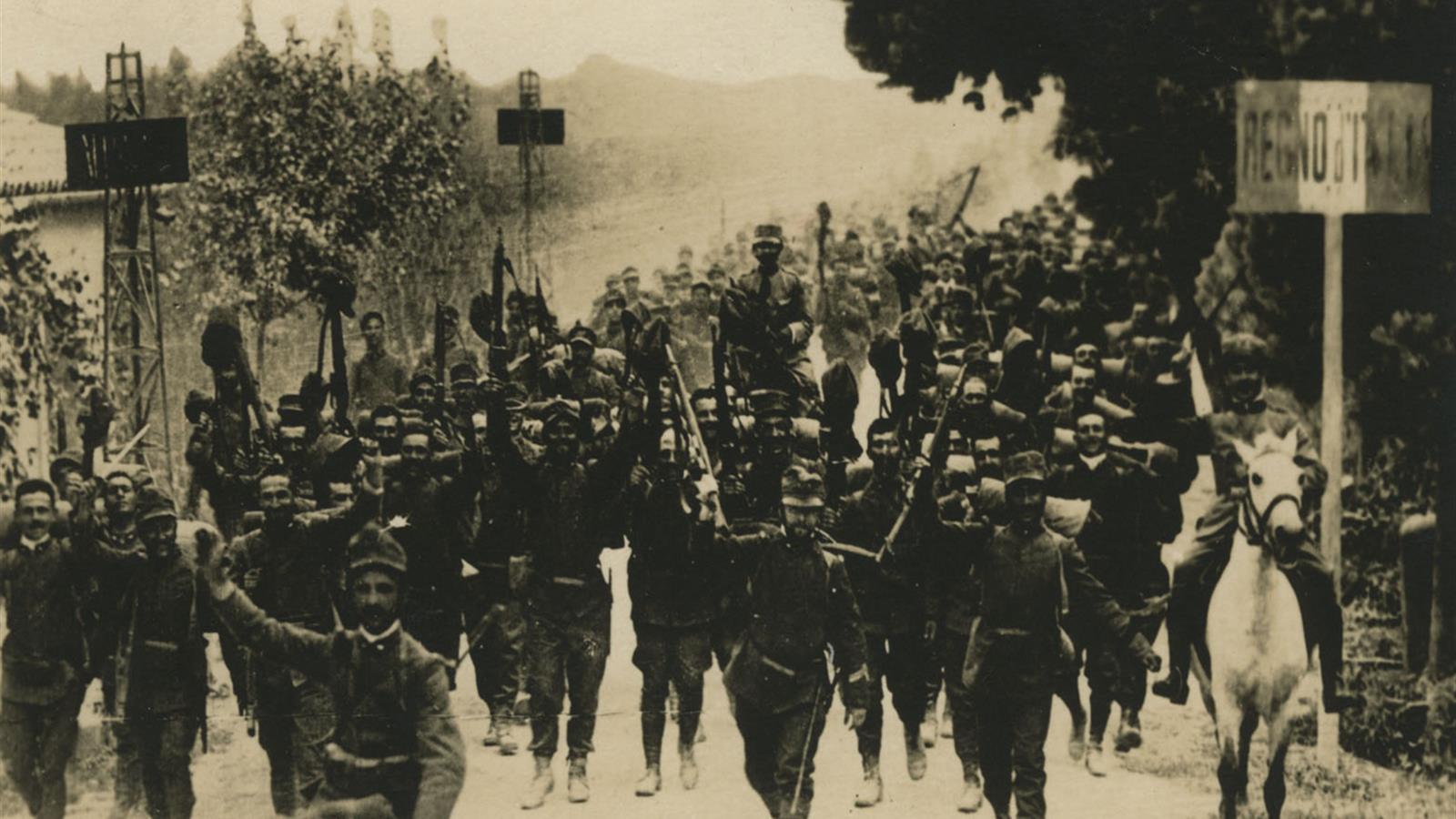 Soldati italiani durante la Prima guerra mondiale