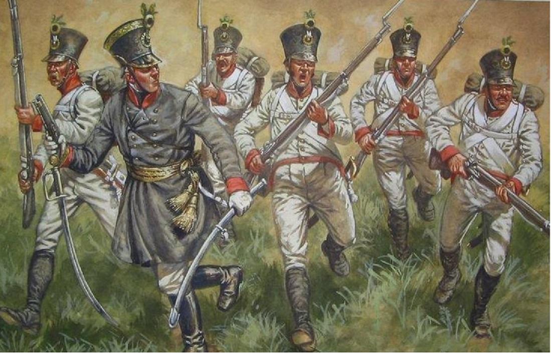 Soldati austriaci alla carica