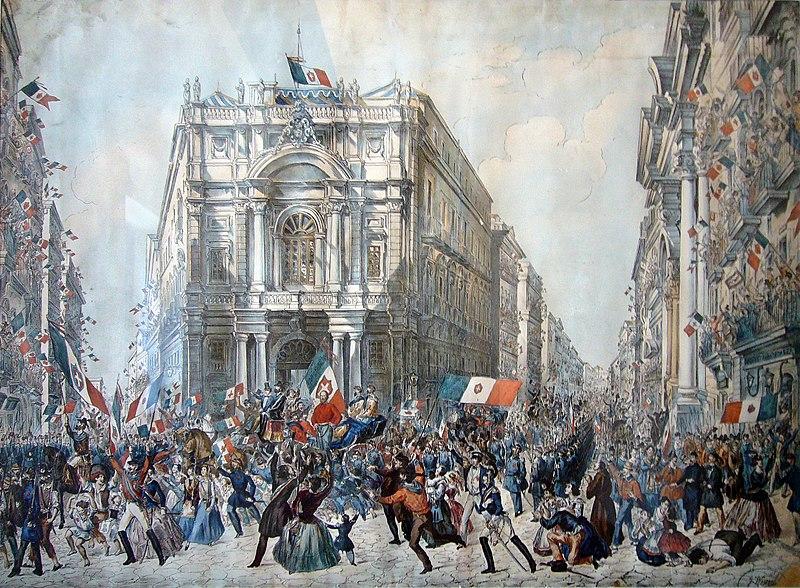Ingresso di Garibaldi a Napoli