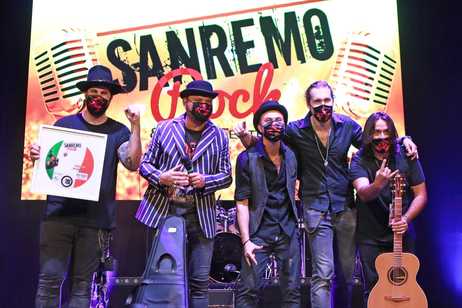 I Magenta#9 a Sanremo Rock