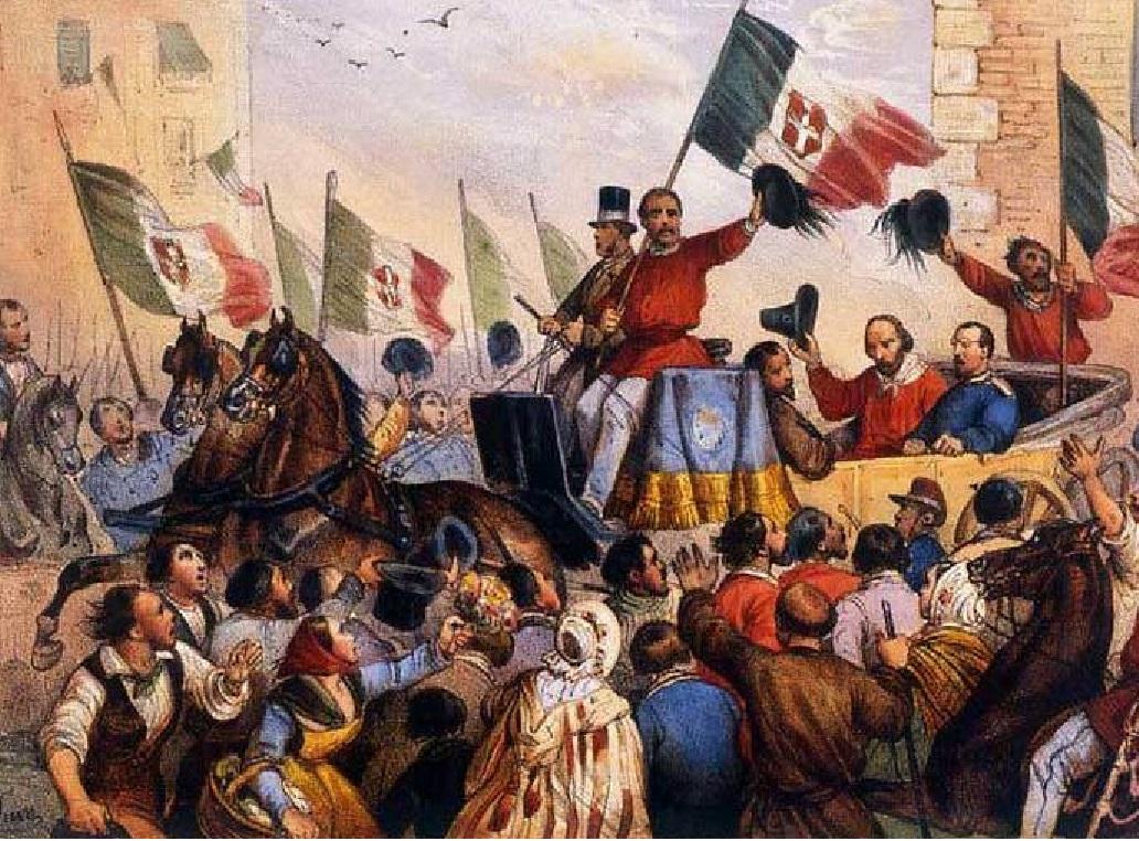 L'ingresso di Garibaldi a Napoli