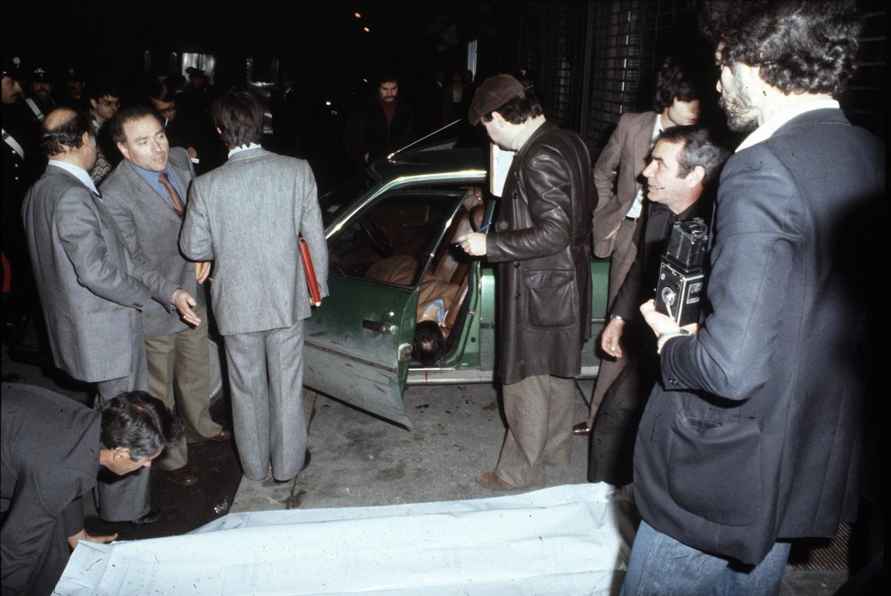 Omicidio Pecorelli-la scena del delitto