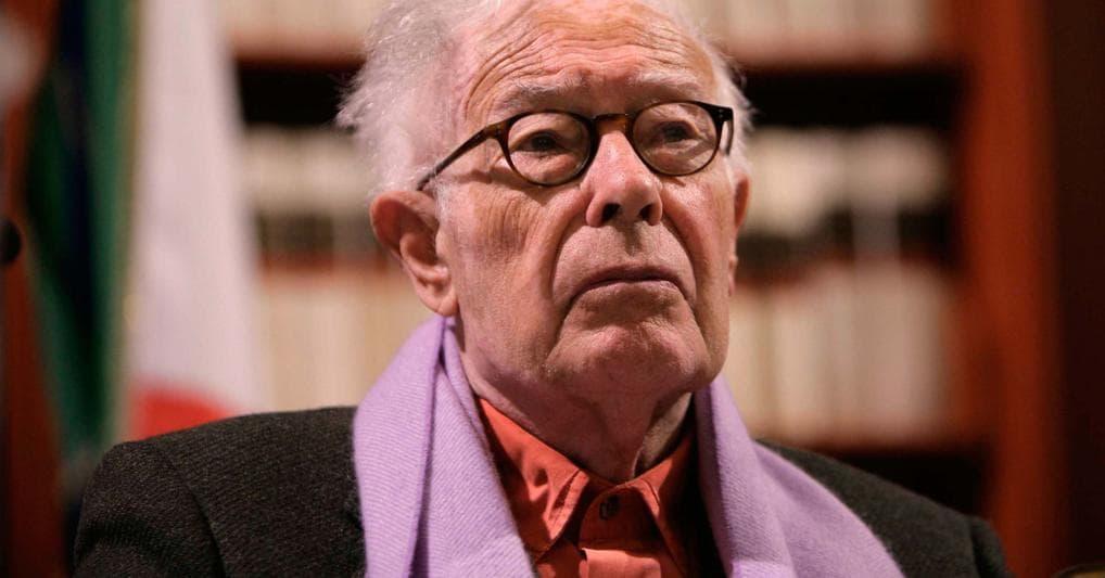 Il politologo Giorgio Galli