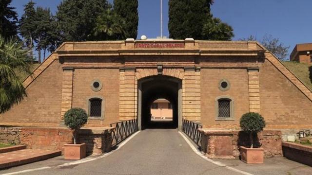 L'ingresso di Forte Braschi