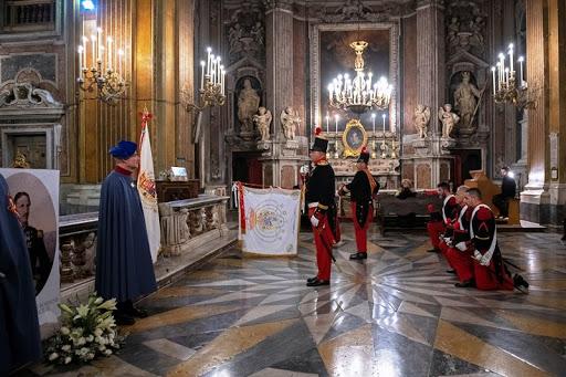 Messa per Francesco II di Borbone
