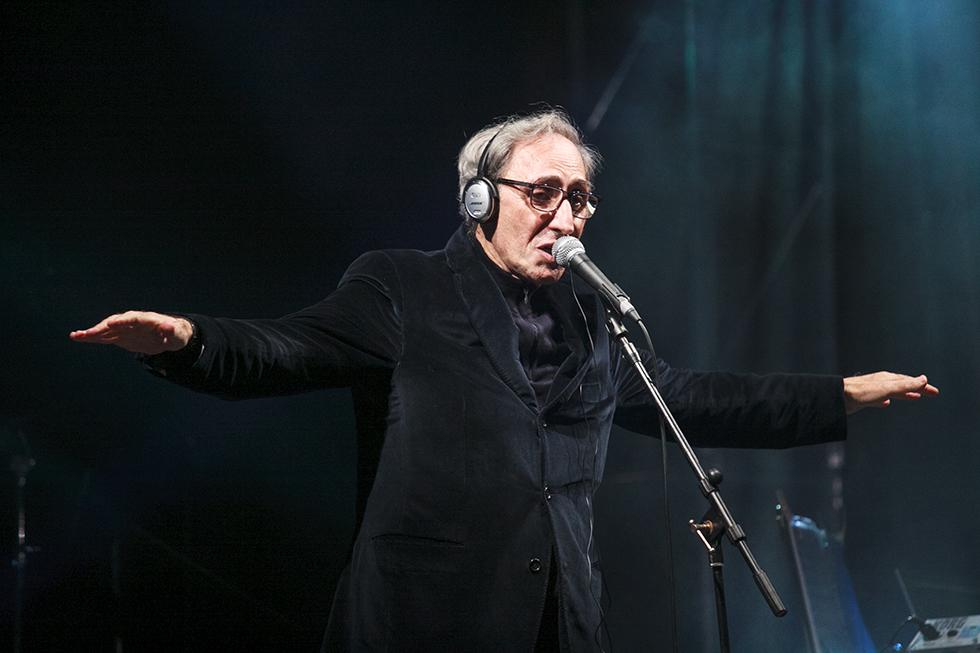 Franco Battiato in concerto